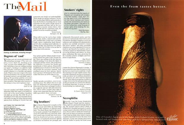 Article Preview: The Mail, April 1997 | Maclean's