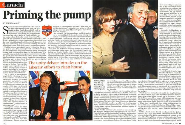 Article Preview: Priming the pump, April 1997 | Maclean's