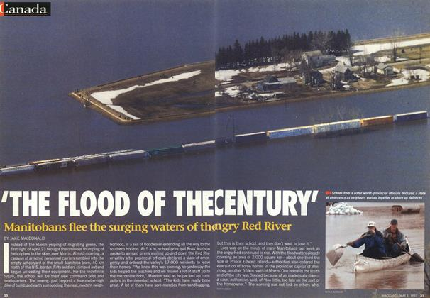 Article Preview: 'THE FLOOD OF THE CENTURY', May 1997 | Maclean's