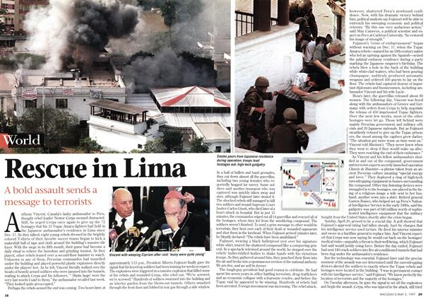 Article Preview: Rescue in Lima, May 1997 | Maclean's