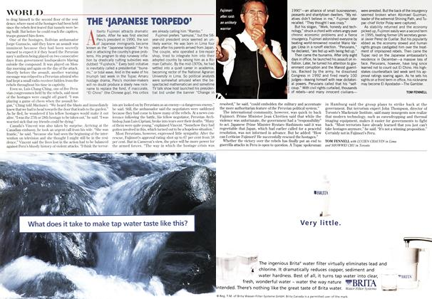 Article Preview: THE 'JAPANESE TORPEDO', May 1997 | Maclean's