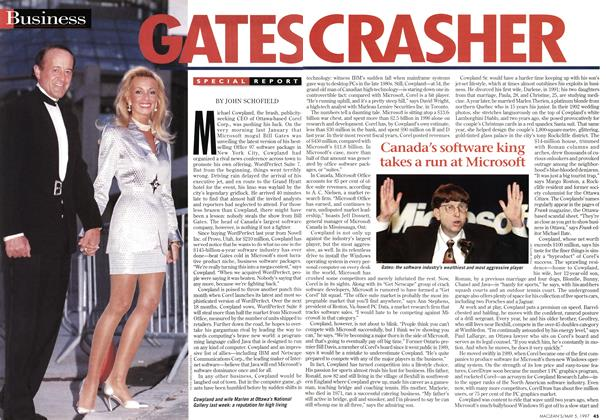 Article Preview: GATES CRASHER, May 1997 | Maclean's