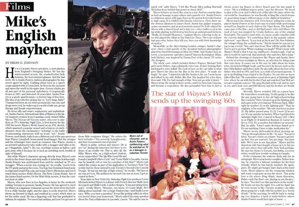 Article Preview: Mike's English mayhem, May 1997 | Maclean's