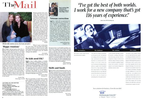 Article Preview: TheMail, May 1997 | Maclean's