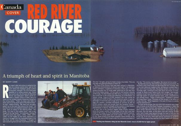Article Preview: RED RIVER COURAGE, May 1997 | Maclean's