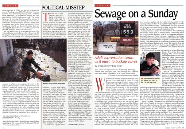 Article Preview: Sewage on a Sunday, May 1997 | Maclean's