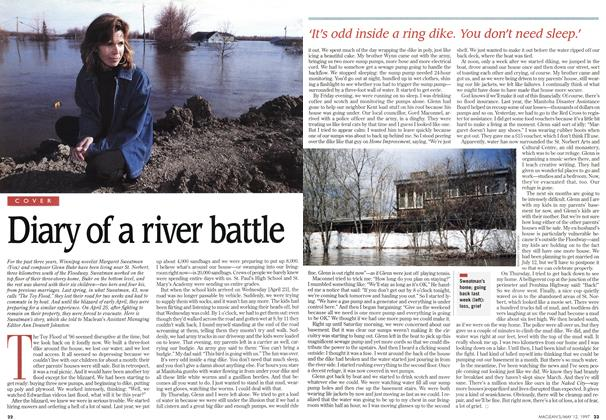 Article Preview: Diary of a river battle, May 1997 | Maclean's