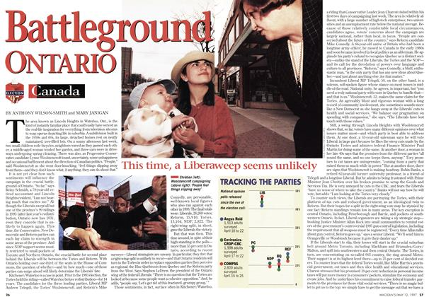 Article Preview: attleground ONTARIO, May 1997 | Maclean's