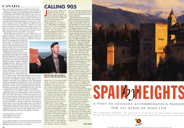 Article Preview: CALLING 905, May 1997 | Maclean's