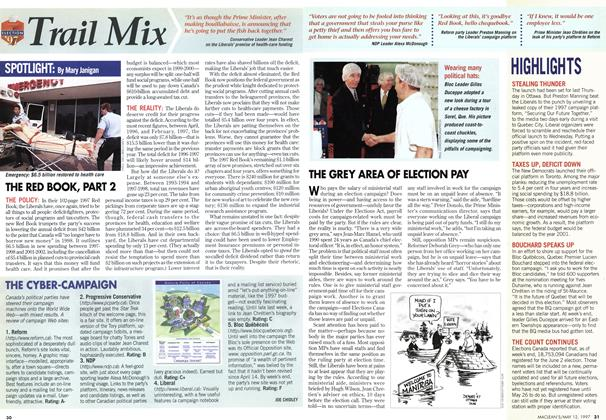 Article Preview: Trail Mix, May 1997 | Maclean's