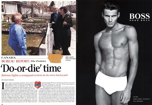 Article Preview: 'Do-or-die' time, May 1997 | Maclean's