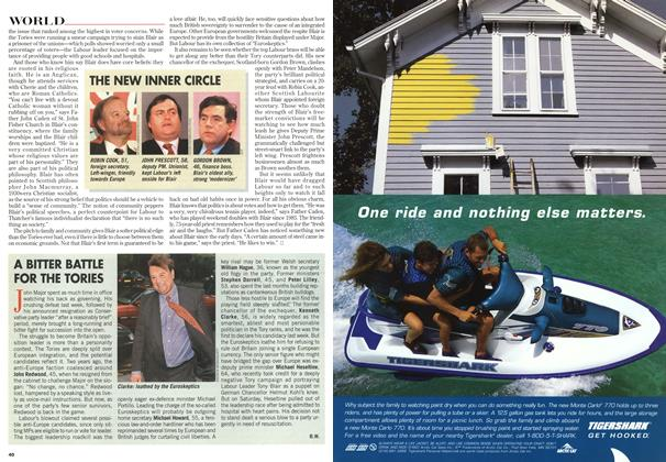 Article Preview: A BITTER BATTLE FOR THE TORIES, May 1997 | Maclean's
