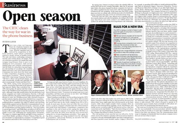 Article Preview: Open season, May 1997 | Maclean's