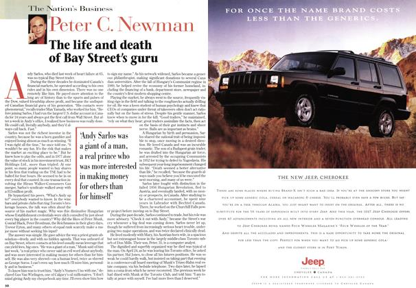Article Preview: The life and death of Bay Street's guru, May 1997 | Maclean's