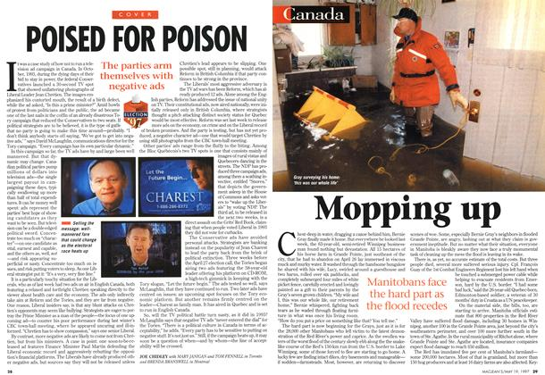 Article Preview: Mopping up, May 1997 | Maclean's
