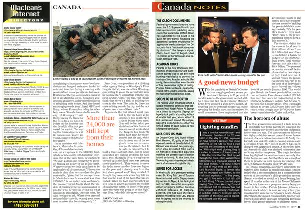 Article Preview: Canada NOTES, May 1997 | Maclean's