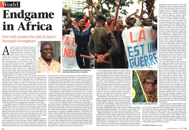 Article Preview: Endgame in Africa, May 1997 | Maclean's