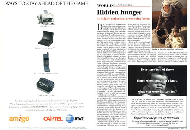 Article Preview: Hidden hunger, May 1997 | Maclean's