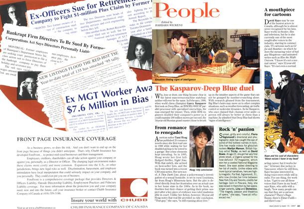 Article Preview: People, May 1997 | Maclean's
