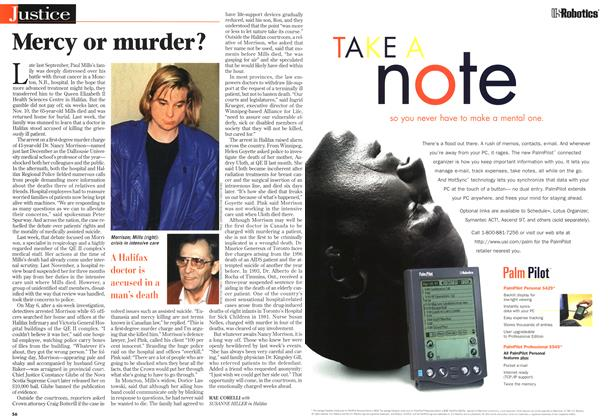 Article Preview: Mercy or murder?, May 1997 | Maclean's