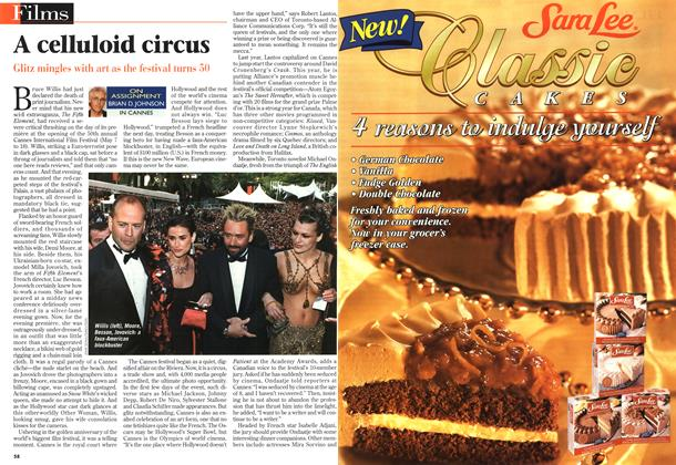 Article Preview: A celluloid circus, May 1997 | Maclean's