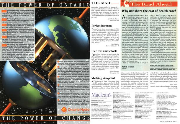 Article Preview: The Road Ahead, May 1997 | Maclean's