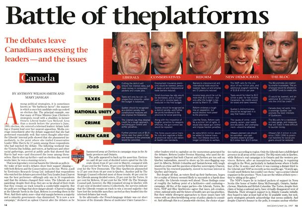 Article Preview: Battle of the platforms, MAY26,1997 1997 | Maclean's