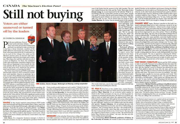 Article Preview: Still not buying, MAY26,1997 1997 | Maclean's