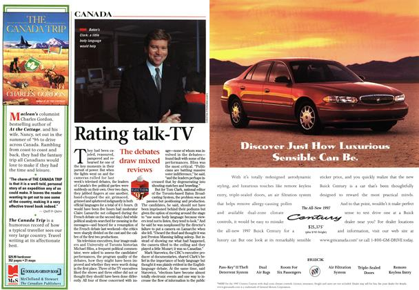 Article Preview: Rating talk-TV, MAY26,1997 1997 | Maclean's