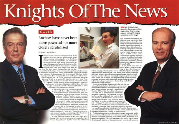 Article Preview: Knights Of The News, MAY26,1997 1997 | Maclean's