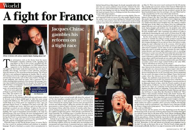 Article Preview: A fight for France, MAY26,1997 1997 | Maclean's