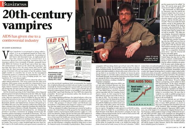 Article Preview: 2Oth-century vampires, MAY26,1997 1997 | Maclean's