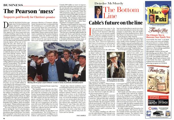 Article Preview: The Pearson 'mess', MAY26,1997 1997 | Maclean's