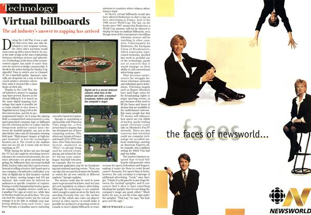Article Preview: Virtual billboards, MAY26,1997 1997 | Maclean's