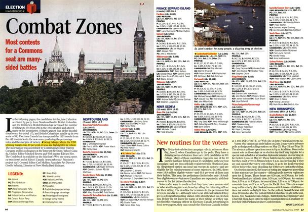 Article Preview: Combat Zones, MAY26,1997 1997 | Maclean's