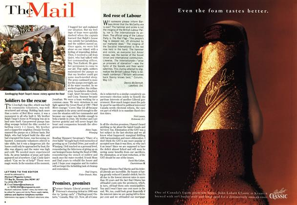 Article Preview: LETTERS TO THE EDITOR, MAY26,1997 1997 | Maclean's