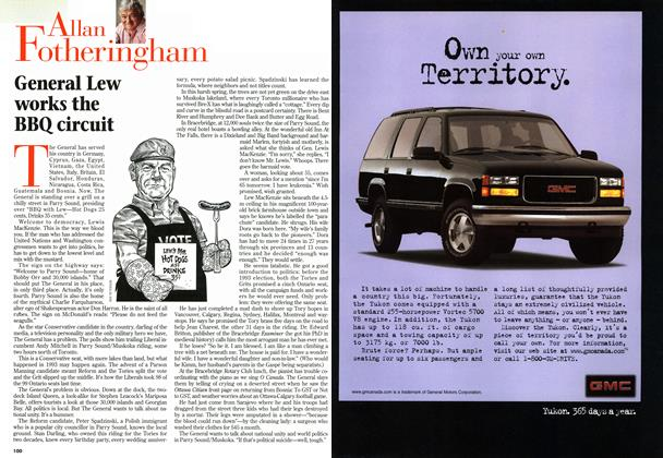 Article Preview: General Lew works the BBQ circuit, MAY26,1997 1997 | Maclean's