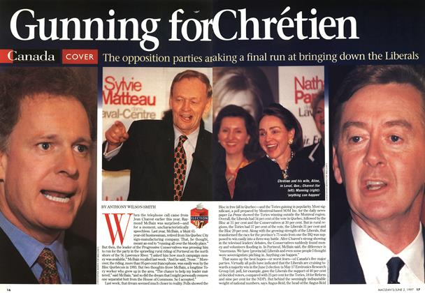 Article Preview: Gunning for chréetien, June 1997 | Maclean's