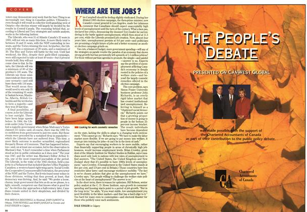 Article Preview: WHERE ARE THE JOBS?, June 1997 | Maclean's