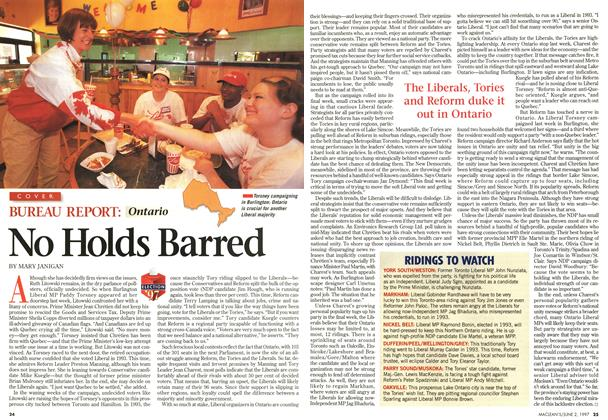 Article Preview: No Holds Barred, June 1997 | Maclean's