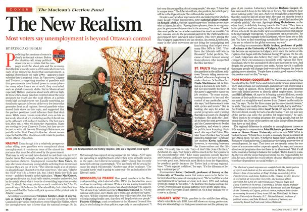 Article Preview: The New Realism, June 1997 | Maclean's