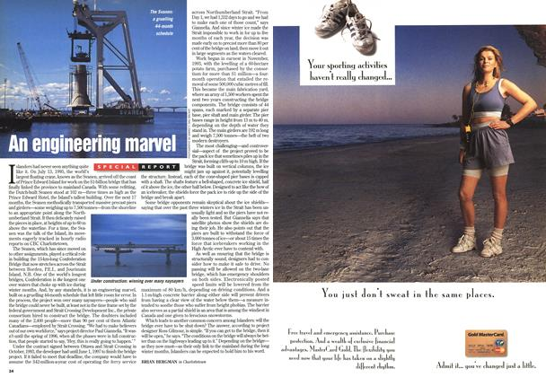 Article Preview: An engineering marvel, June 1997 | Maclean's