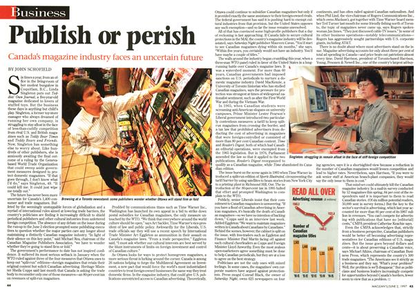 Article Preview: Publish or perish, June 1997 | Maclean's