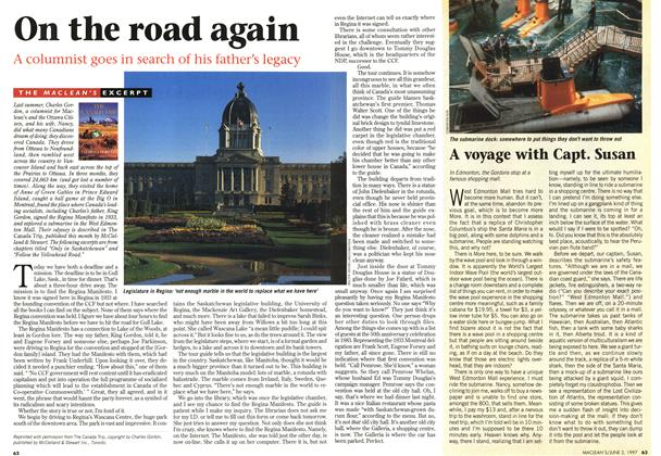 Article Preview: On the road again, June 1997 | Maclean's