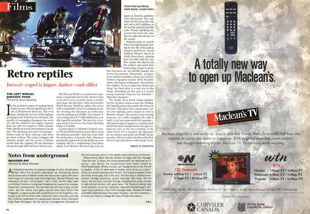 Article Preview: Retro reptiles, June 1997 | Maclean's