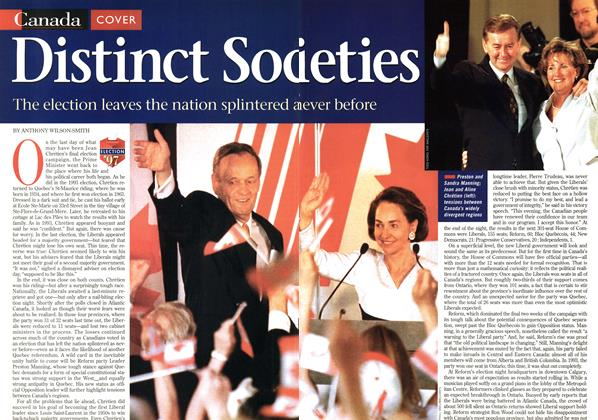 Article Preview: Distinct Societies, June 1997 | Maclean's