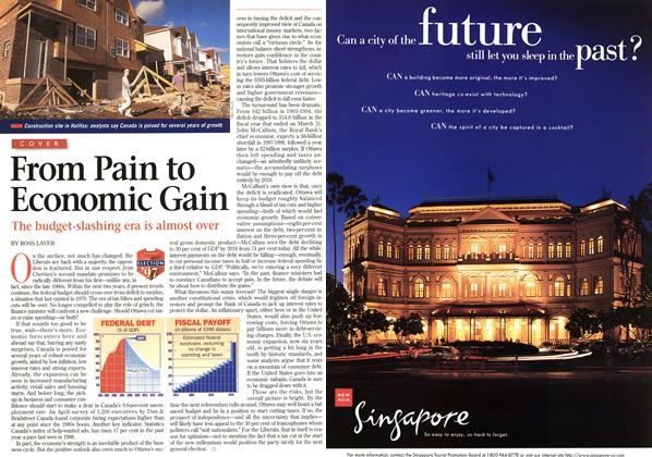 Article Preview: From Pain to Economic Gain, June 1997 | Maclean's