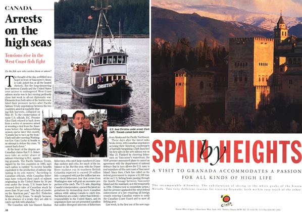 Article Preview: Arrests on the high seas, June 1997 | Maclean's