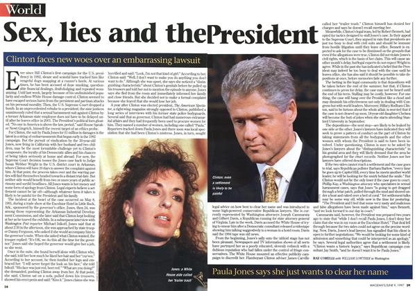 Article Preview: Sex, lies and the President, June 1997 | Maclean's