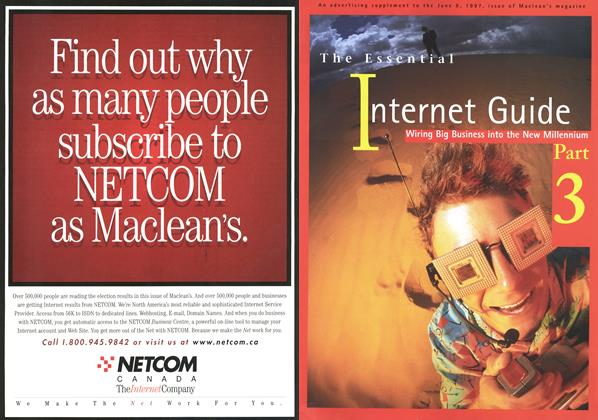 Article Preview: The Essential Internet Guide, June 1997 | Maclean's